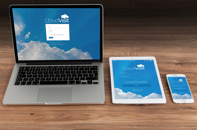 CloudVisit Video Inspection software compatible with most desktop and mobile devices