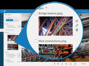 CloudVisit remote inspection - files