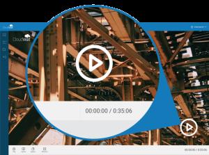 CloudVisit Remote Inspection - video playback