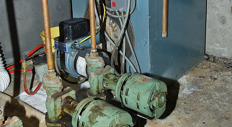 Non-destructive inspection and testing of a boiler