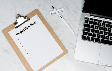 Remote inspection checklist plan